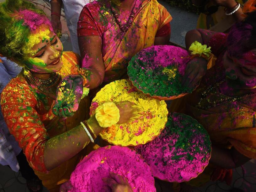 """Презентация """"Праздник Холи в Индии"""""""