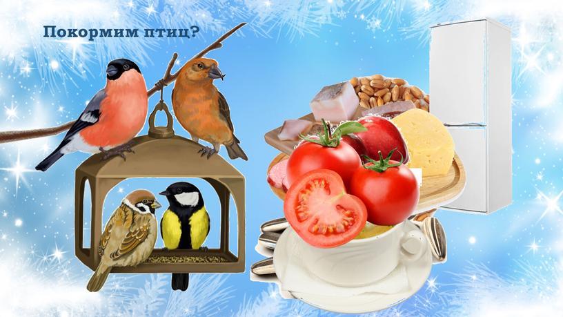 Покормим птиц?