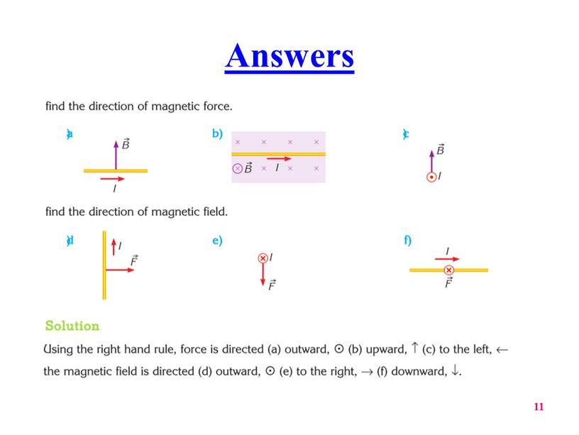 Answers 11