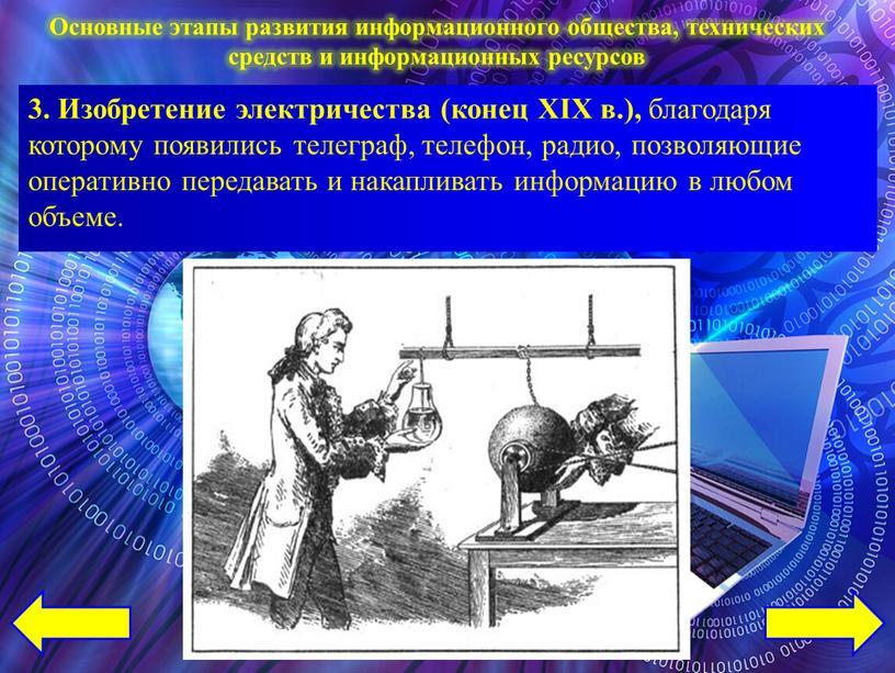 Изобретение электричества (конец