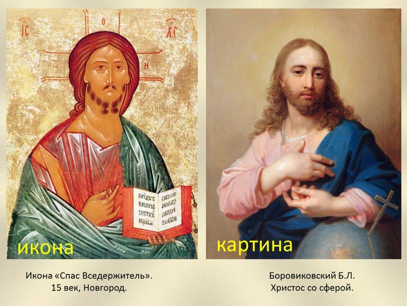 Боровиковский Б.Л. Христос со сферой