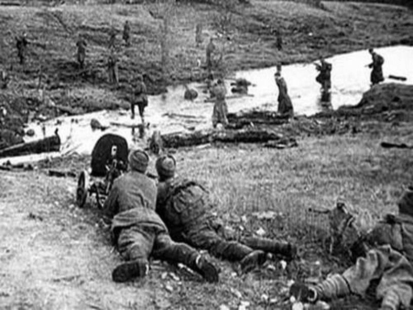 Потери были страшные. Более миллиона солдат