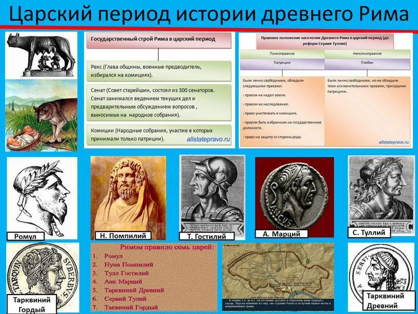 Царский период истории древнего