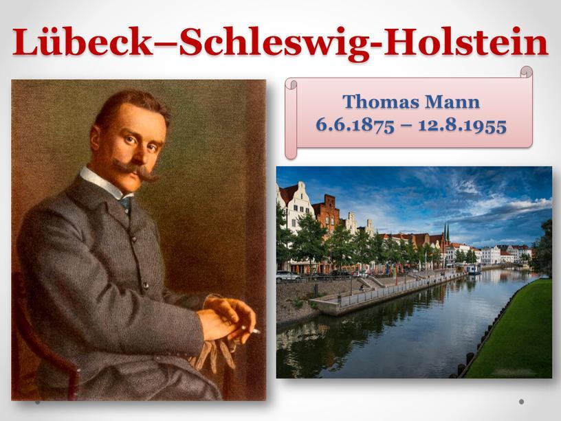 Lübeck–Schleswig-Holstein Thomas