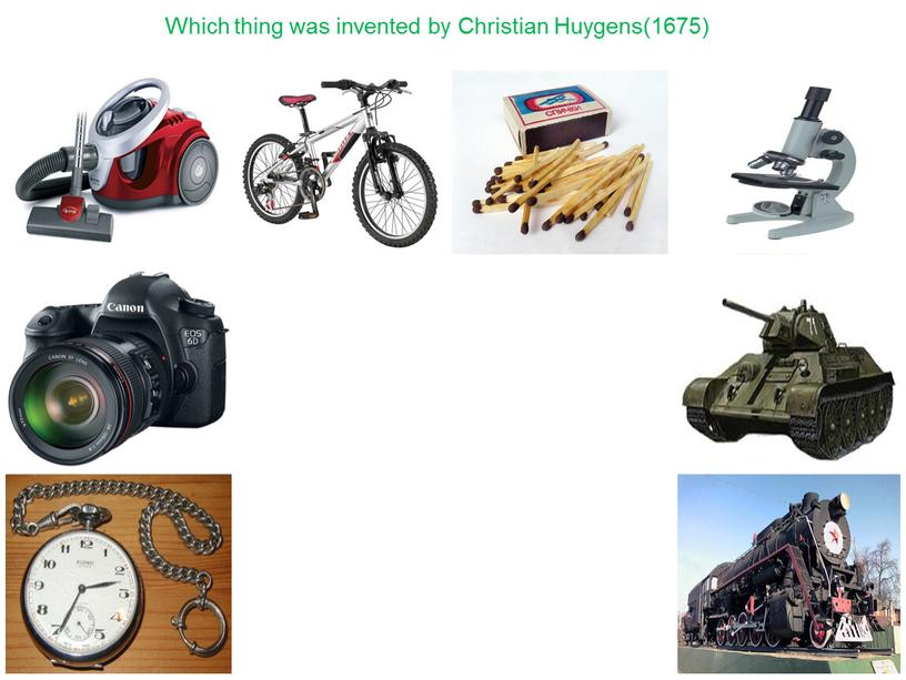 Which thing was invented by Christian