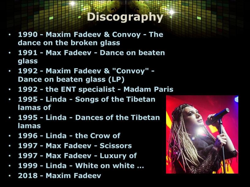 Discography 1990 - Maxim Fadeev &
