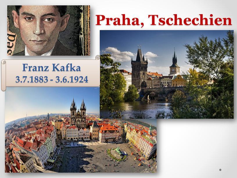 Praha, Tschechien Franz Kafka 3