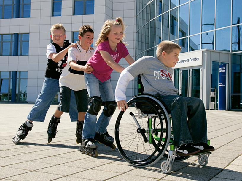 Люди с ограниченными возможностями здоровья- это люди с физическими недостатка,
