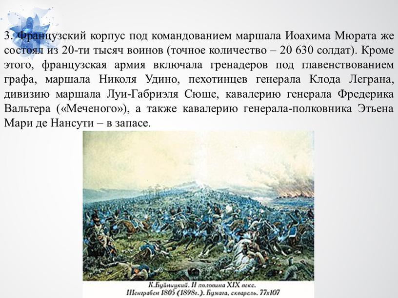 Французский корпус под командованием маршала