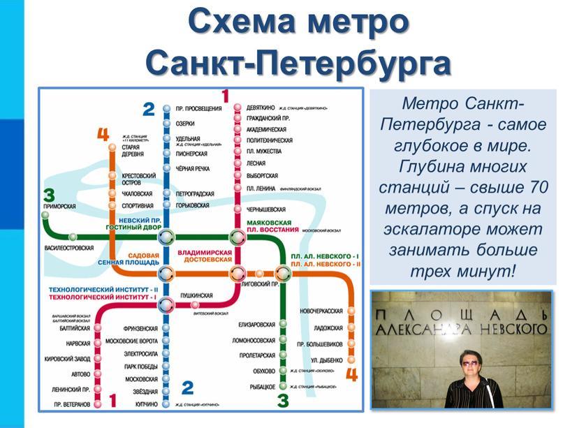 Схема метро Санкт-Петербурга Метро