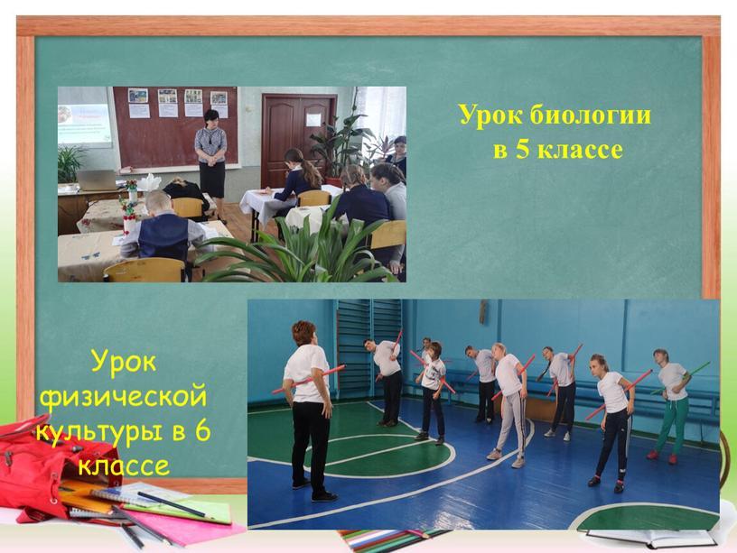 Урок физической культуры в 6 классе