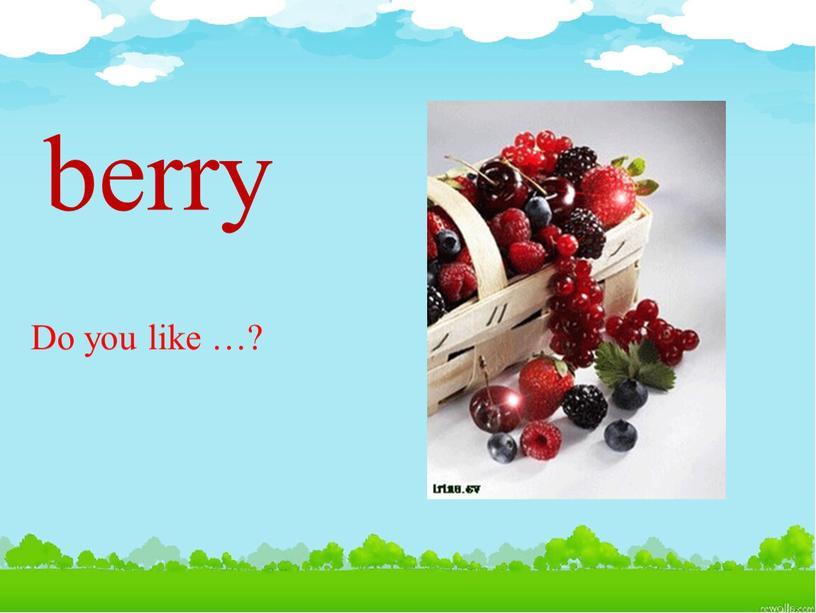 berry Do you like …?