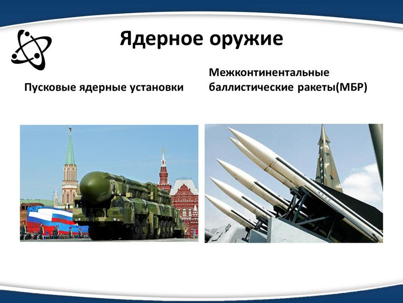 Ядерное оружие Пусковые ядерные установки