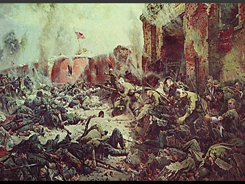 Картины художников о Великой Отечественной войне