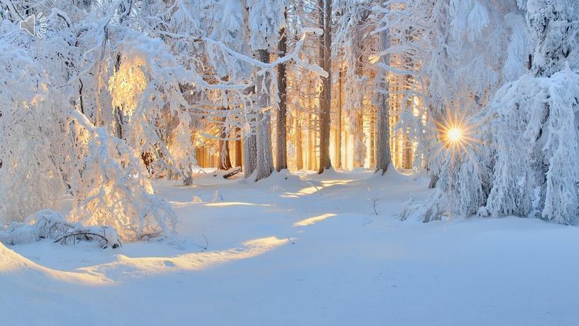 """Презентация """"Зима"""""""