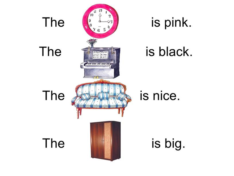 The is pink