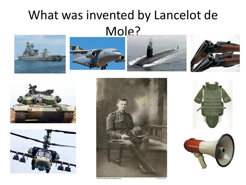 What was invented by Lancelot de