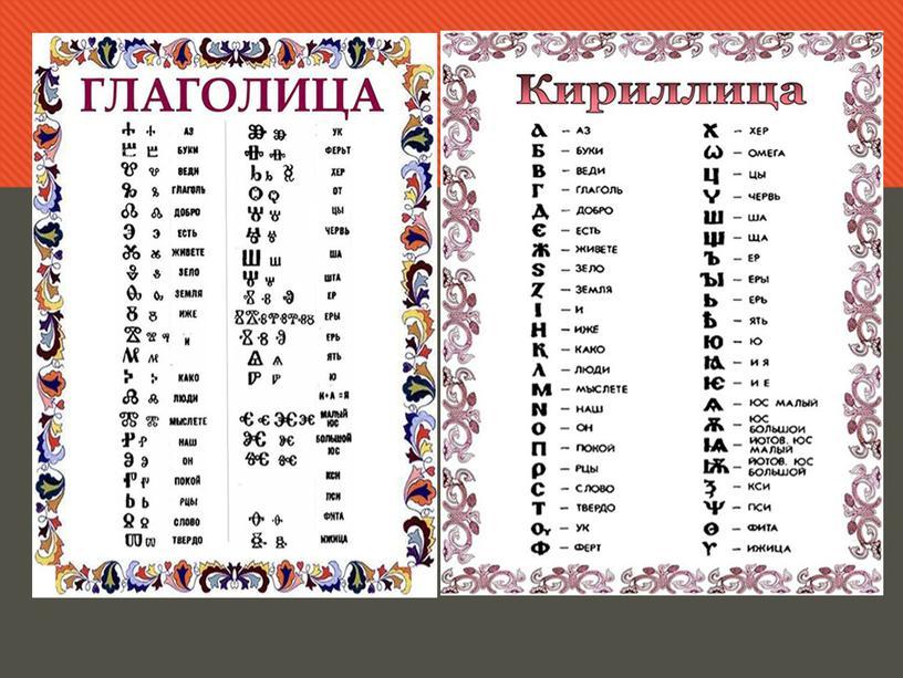 """Презентация по окружающему миру """"Создание славянской азбуки. Летопись-рукописная книга."""", 4 класс."""