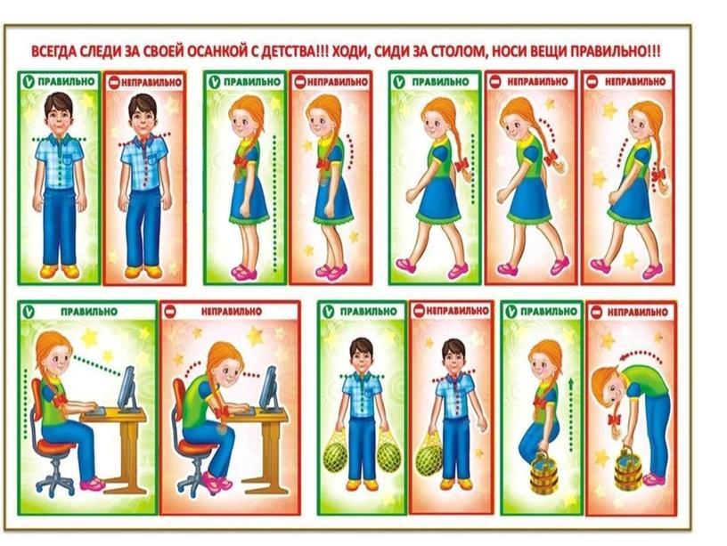 """Внеурочная деятельность """"Правильная осанка"""""""