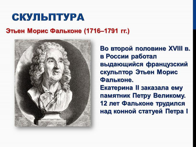 Этьен Морис Фальконе (1716–1791 гг