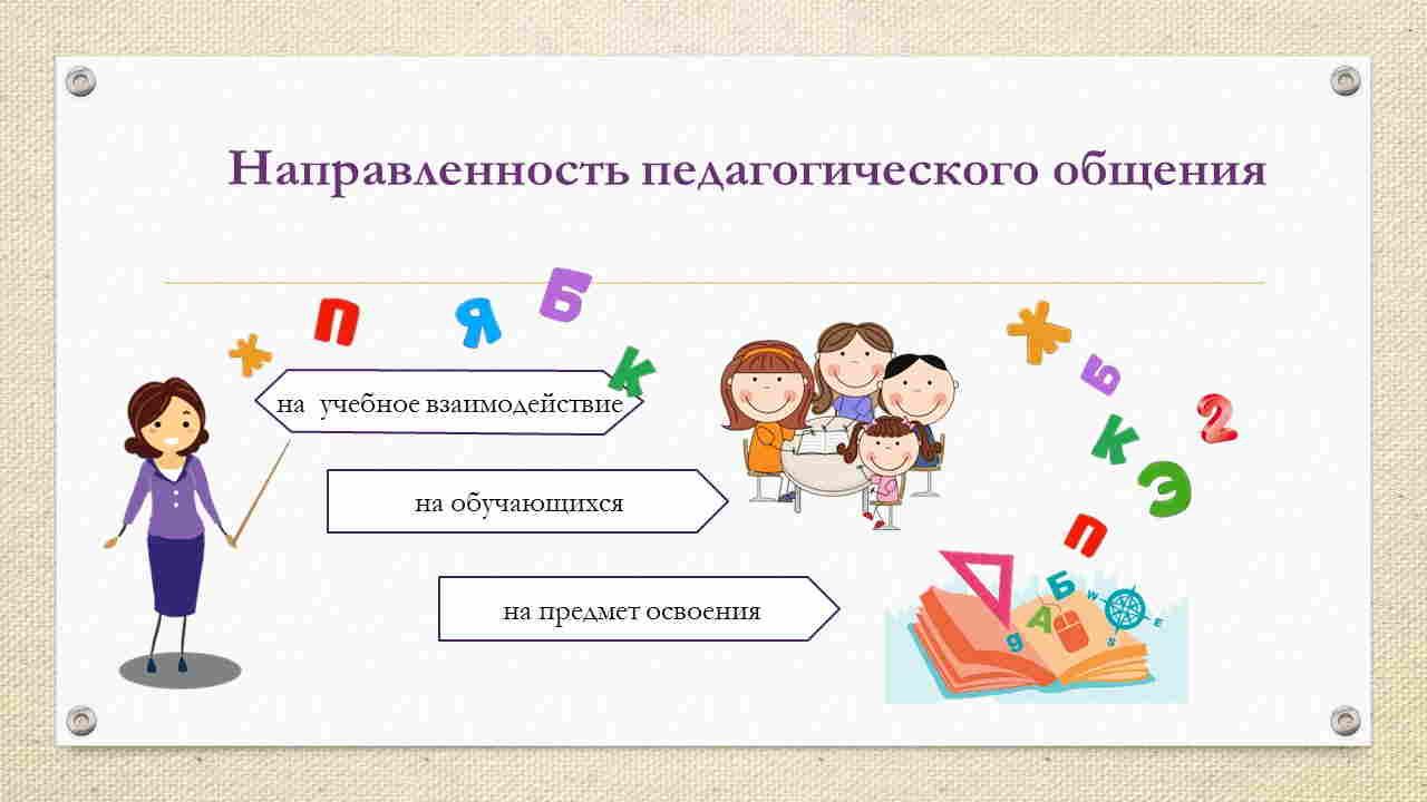 доклад на тему педагогическое общение