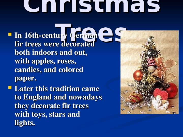 """Презкнтация по англискому языку """"Рождество"""" (5 класс)"""