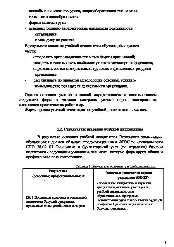 Фонд оценочных средств