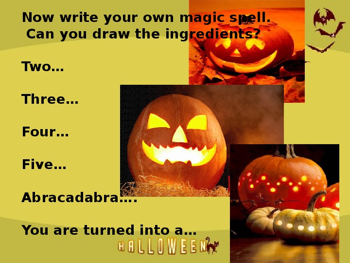 """Презентация к внеклаасному мероприятию """"Halloween"""""""