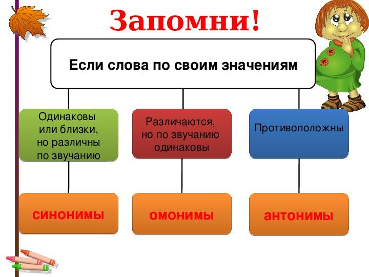 Синонимы антонимы омонимы картинка