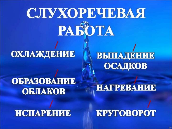 """Презентация """"Путешествие Капельки"""""""