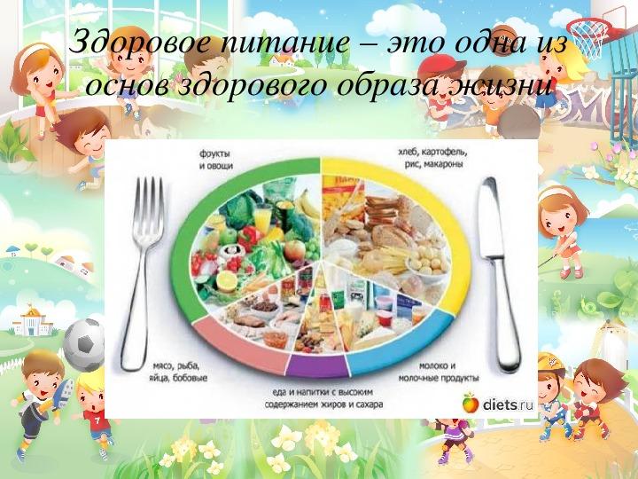 """Презентация к классному часу """"Здоровый ребёнок в здоровой семье"""""""