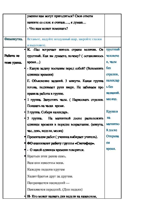 """Конспект урока по  литературному чтению 4 класс Максим Горький """"Бабушка"""""""