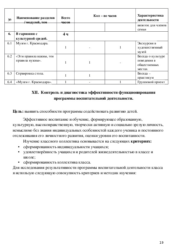 Формирование сплочённого детского коллектива в начальной школе.