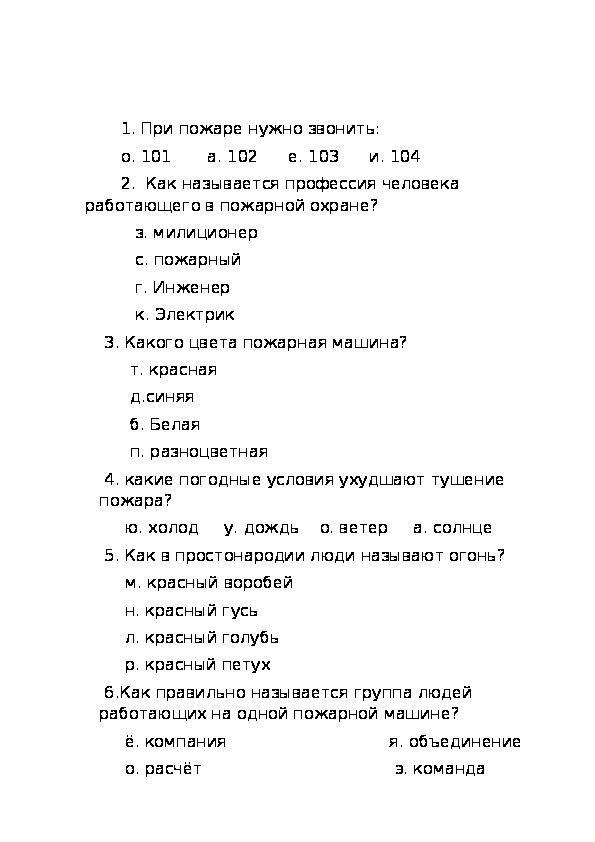 """Комплект материалов по теме """"Как вести себя пр пожаре"""""""