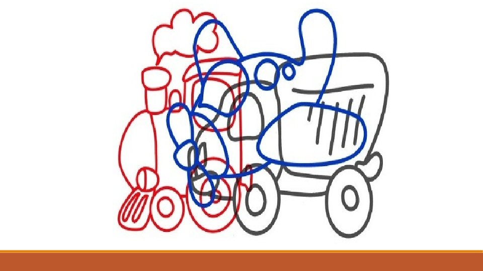 «Какие предметы спрятаны в рисунках?» Игра на развитие воображения и мышления.