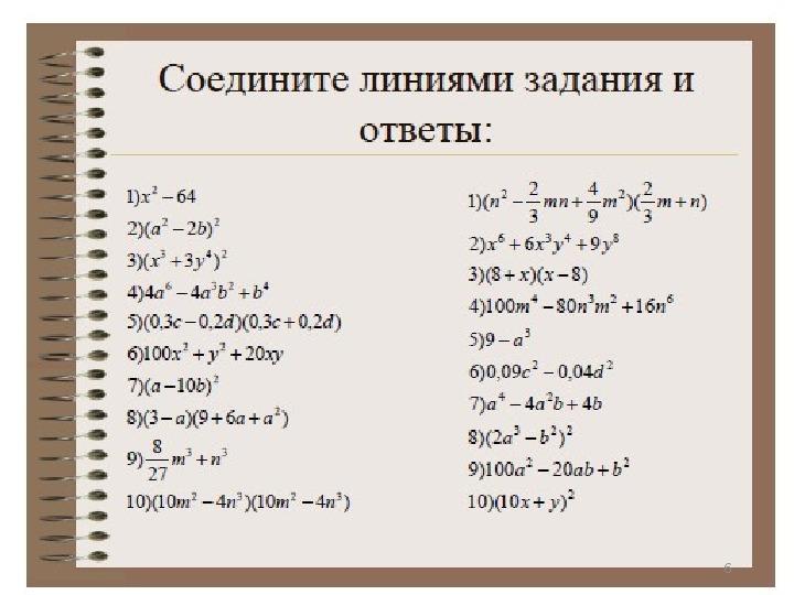 Методы организации повторения на уроках математики в выпускных классах