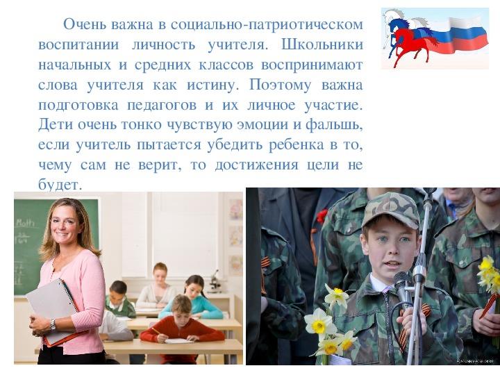 """Родительское соьрание """"Воспитание чувства патриотизма у младших школьников"""""""
