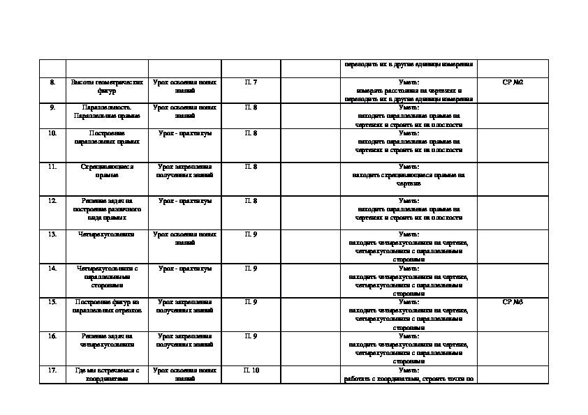 Наглядная геометрия 5-6 классы