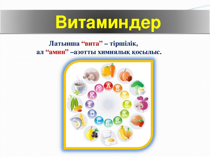 Презентация по биологий на тему  Витамины