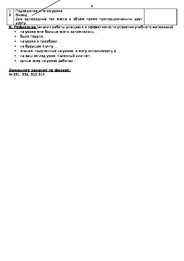 """Методическая разработка интегрированного урока"""" Измерение плотности вещества""""(7 класс)"""