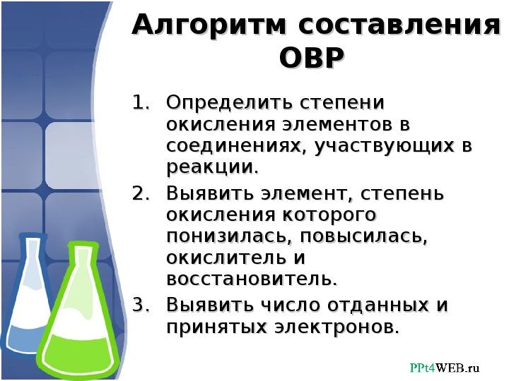 """Презентация по химии на тему """"Окислительно-восстановительные реакции"""""""