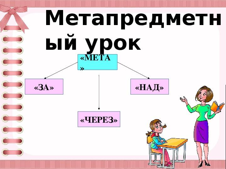 """Семинар по теме: """"Метапредметный урок"""""""