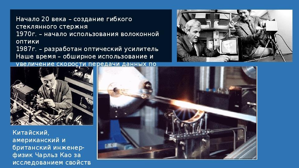 """Учебный проект по физике """"Стекловолокно на службе человека"""""""