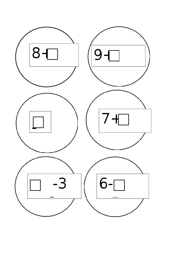 """Конспект урока по математике """"Сравнение числа 10 с однозначными числами"""""""