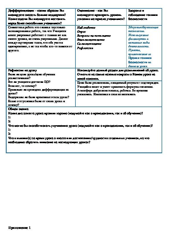 План урока по математике на тему Формулы сложения (10 класс)