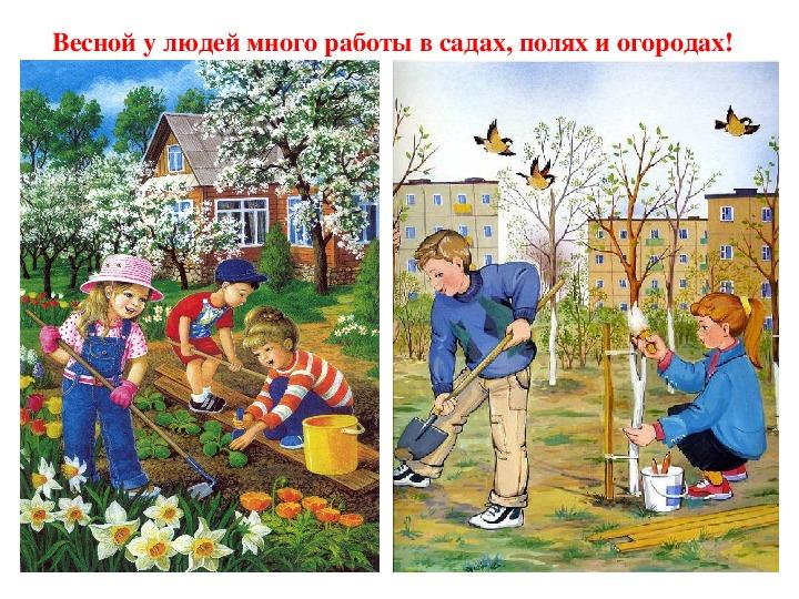 """Презентация по окружающему миру """"Весенний КВН"""" (4 класс 8 вида)"""