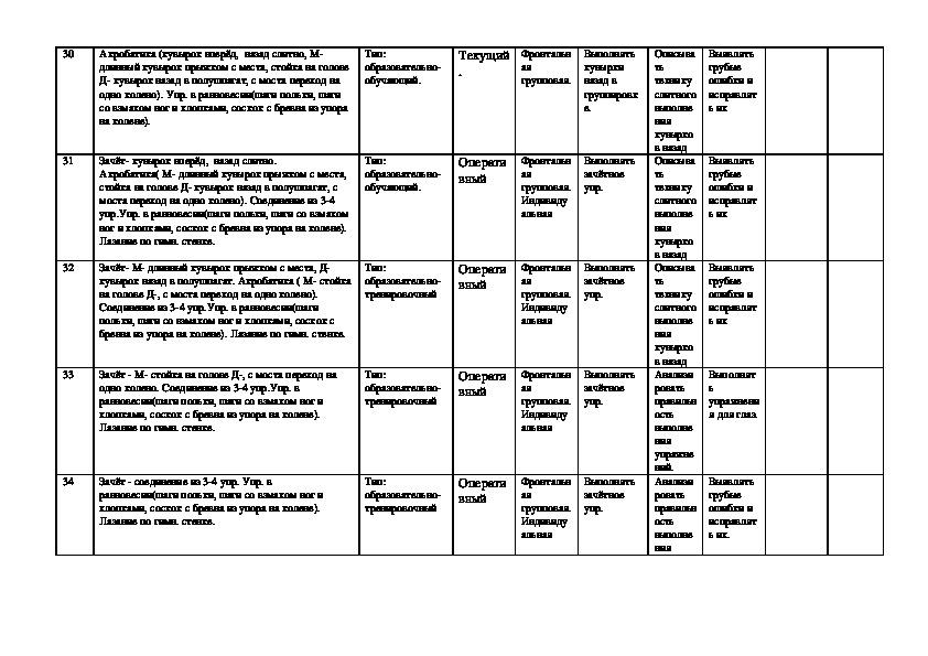 Рабочая программа по физической культуре 8 класс