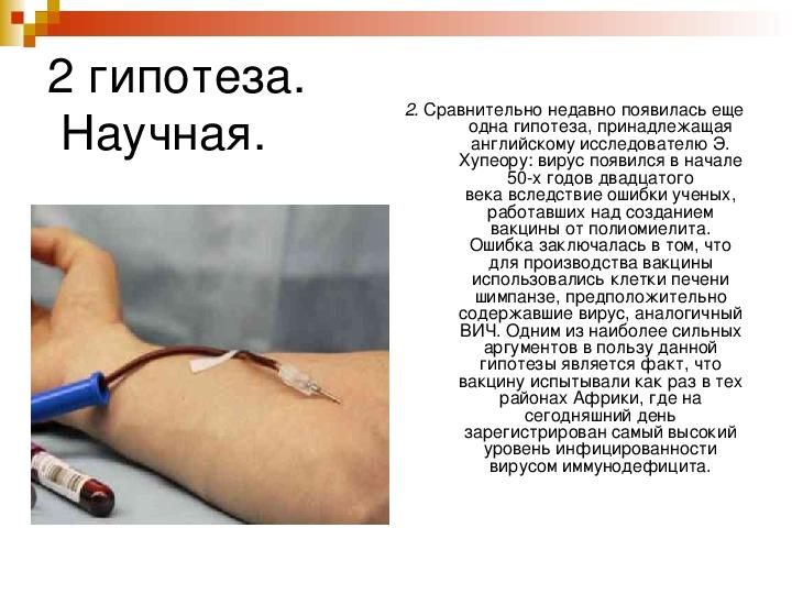 "Презентация на тему ""ВИЧ-инфекция и СПИД: без мифов и иллюзий"""