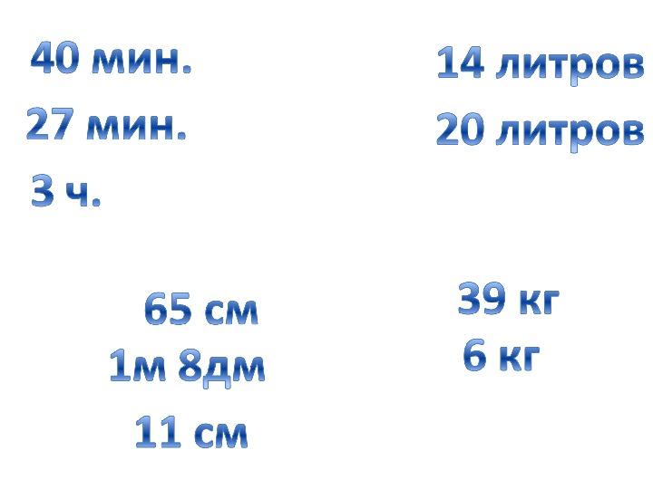 "Презентация к уроку ""Метр и километр"""