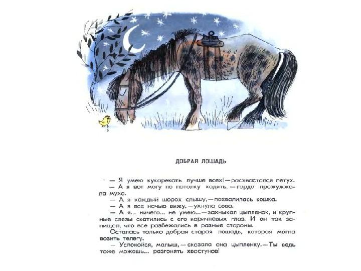 Урок по литературному чтению М. С. Пляцковский  «Урок дружбы» (1 класс).